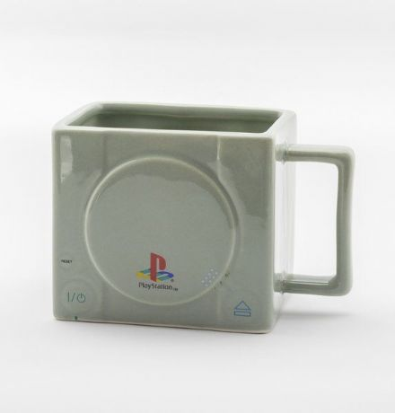 Retro Playstation 3D Console Mug